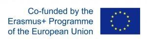 Ersamus Plus logo. Co-funded by the Erasmus+ Programme of the European Union