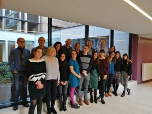Official consortium group photo made during the Kick off meeting in Brussels