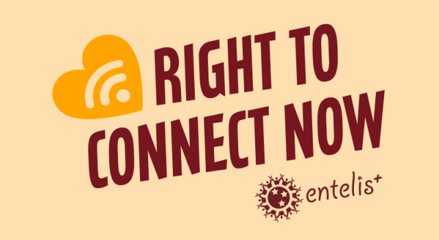 Right to connect now, right to work!