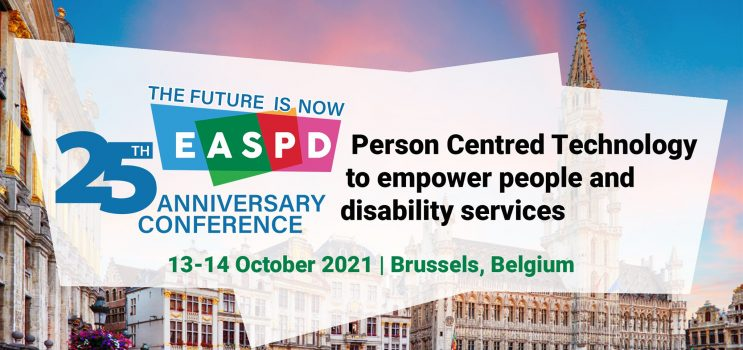Join ENTELIS+ digital accessibility networking event and Workshop in  EASPD's 25th Anniversary Conference at Brussels